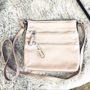Handbags - [brandless] Blush pink Crossbody purse/bag